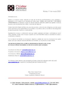 COMUNICADO CLAUTEDOMEX